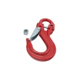 Red winch hook